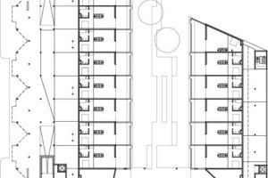 1. Obergeschoss, M 1:1000<br />