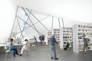 Visualisierung Erweiterungsplanung (Bibliothek)<br />
