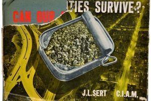 """Bucheinband von J. L. Sert der fragt """"Wie können unsere Städte überleben?"""""""