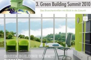"""<div class=""""13.6 Bildunterschrift"""">3. IIR Jahrestagung """"Green Building Summit"""" 2010</div>"""