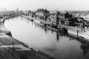Hafenansicht von Köln von 1930