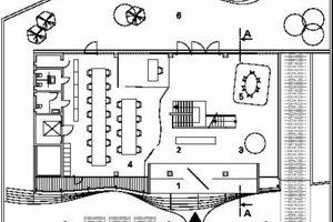 Erdgeschoss, M 1:400