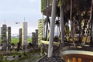 Metropolitan Garden City: Städtebauentwurf für Penang, Malaisien, Internationaler Wettbewerb 2004 in Entwicklung<br />