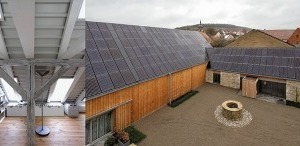 Holz und Stein, integrierte Photovoltaik / Dachausbau im Bürohaus / Geburtshaus, Altenwohnen / Erweiterung Besprechung, Mitarbeiterkantine