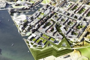 Fredericia C, Fredericia/DK, Masterplan für die Wiederbelebung und Umstrukturierung des Hafenviertels, 2011<br /><br />