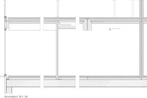 Modulquerschnitt-Details, M 1:50