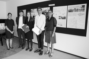 Priscilla Schädler (HPP), Gerhard G. Feldmeyer (HPP), Miriam Völcker (UdK Berlin), Maximilian Goes (KIT Karlsruhe) und Katja Domschky