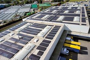 Abb. 1: Solaranlagen auf dem Flachdach werden objektbezogen geplant