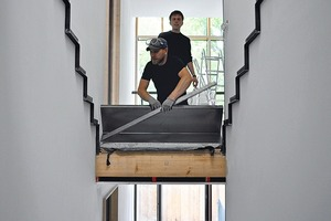 Treppenkonstruktion<br />