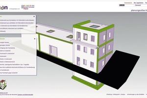 """Interaktive Benutzeroberfläche des """"Planungsatlas für den Hochbau"""" für eine schnelle Recherche innerhalb der über 770 Konstruktionsanschlüsse<br />"""