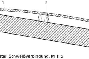 Detail Schweißverbindung, M 1:5