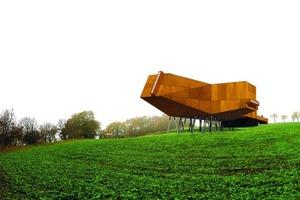 Wettbewerb Himmelscheibe Besucherzentrum, Nebra, 2004<br />