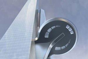 In der 157. Etage ist die höchste Aussichtsplattform der Welt geplant