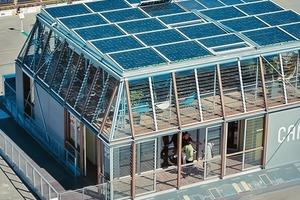"""Platz 1: Das Haus Canopea kann im urbanen Kontext skaliert werden und zu einem """"Nanotower"""" gestapelt werden<br />"""