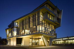 Schulungszentrum Linde Agora – große Stützweiten<br />über 3,5 Etagen