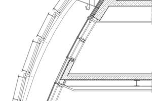 Detail Dach, M 1:75<br />