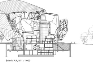 Schnitt AA, M 1:1000