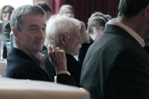 Zwei von 51 geladenen Diskutanten: Vittorio Magnago Lampugnani neben Hans Stimmann