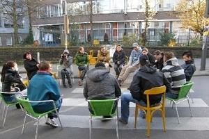 Stadt auf Probe: Aneignung eines Straßenraumes in Aachen