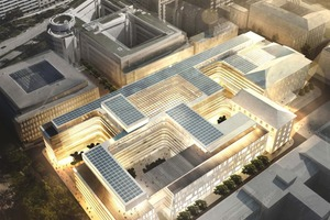 Neubau der Siemens-Konzernzentrale (Henning Larsen Architects, Kopenhagen)<br />