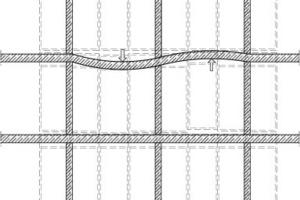 Abb. 2: Beispiel Betondeckenverformung