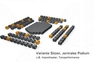 "Ton-Raum-Architektur mit ""Akustik Modul"" Variante 3"