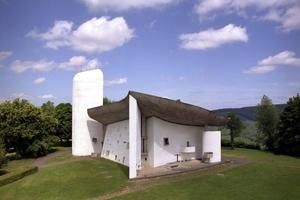 Ebenfalls dabei: Chapel of Ronchamp