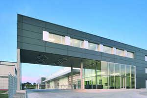 Neubau des Headquarter der FAGSI GmbH, Morsbach, geplant von LHVH Architekten, Köln