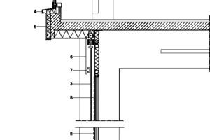 Fassadenschnitt 2, M 1:25
