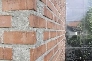 Mauerdetail Ostfassade