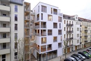 Teilnehmer 2009: Mehrfamilienhaus, Berlin. Planer: Kaden Klingbeil Architekten, Berlin