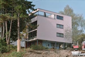 Ebenfalls aufgenommen: Haus Citrohan aus der Weißenhofsiedlung in Stuttgart