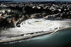 Beton Hala Waterfront Centre, Belgrad/RS (Wettbewerb 2011, Realisierung?)