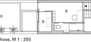 3. Obergeschoss, M 1:200<br />