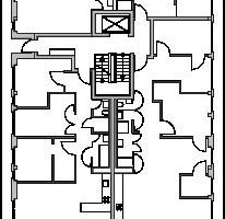 4. Obergeschoss, M 1:500