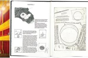 Die Arbeiten (auszugsweise) von Matthias Faul (temporäre Oper), Klara Bindl (Ort der Visionen: das Rathaus) und Elisa Hartmann (Quartier als Haus und umgekehrt)