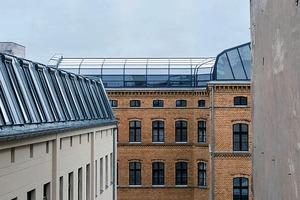 Vorlage für die neue Dachform des Fabrikhauses war eine Zeichnung, die in den Akten aufgetaucht war