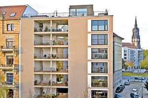 Anerkennung: Dresden, Hospitalstraße. Mehrfamilienwohnhaus – Innerstädtische Lückenschließung