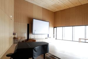 Der Gemeindesaal dient größeren Veranstaltungen