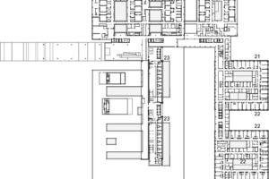 Grundriss 2. Obergeschoss, M 1:2500