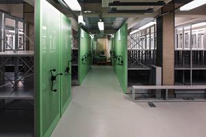 Archiv: Als geeignete Bedingungen für die Lagerung von Archivalien wurde eine Temperatur von 16°C und eine Luftfeuchte von 50% festgelegt