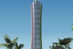 Energy Tower, Burj Al-Taqa - Gerber Architekten