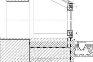 """<div class=""""4.1 Bildunterschrift"""">Detail Anschluss Glaserker an Bestand, M 1:15</div>"""