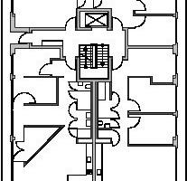 6. Obergeschoss, M 1:500