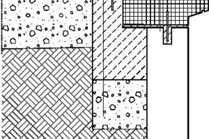 Detail, Stufen zum Wasser, M 1:20