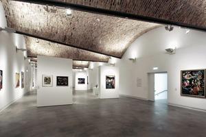 Ausstellungsebene 2. OG unter Ziegelgewölbe