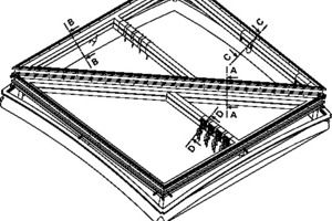 <p>Isometrie Lüftungsklappe, o.M.</p>