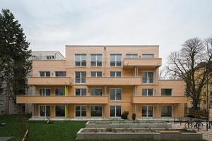 Sonderpreis nachhaltiges Bauen: Erstes innerstädtisches Passivholzhaus in München von Zillerplus Architekten und Stadtplaner aus München und Ambros GmbH aus Hopferau