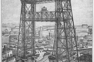 Historische Hubbrücke, Chicago