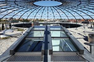 Direkte Ausstiege auf das Dach unter die Schwedlerkuppel – ein kleines Schmankerl für den Wohnungsbesitzer<br />